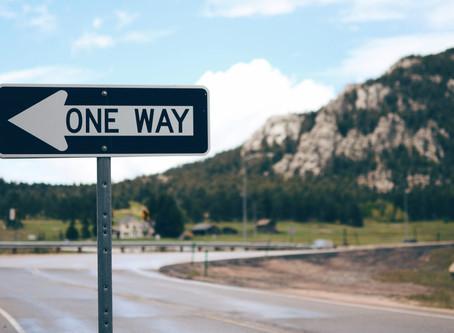 Um único caminho a seguir