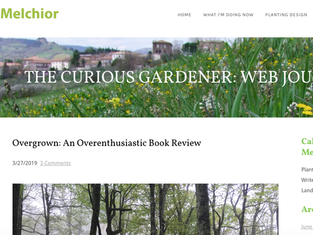 """REVIEW: """"Overgrown: An Overenthusiastic Book Review"""" by Caleb Melchior"""