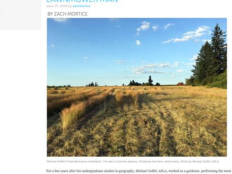 """LINK: Michael Geffel """"Lawnmower Man"""" in LAM online"""
