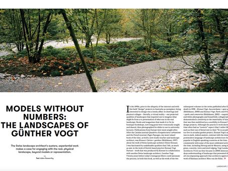 PROFILE: Vogt Landscape Architects