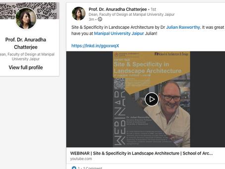 LECTURE: Site & Specificity in Landscape Architecture