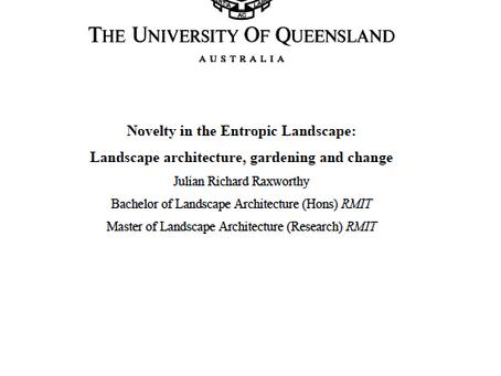 RESEARCH: PhD