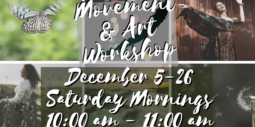 Virtual: Movement Dance & Art Workshop