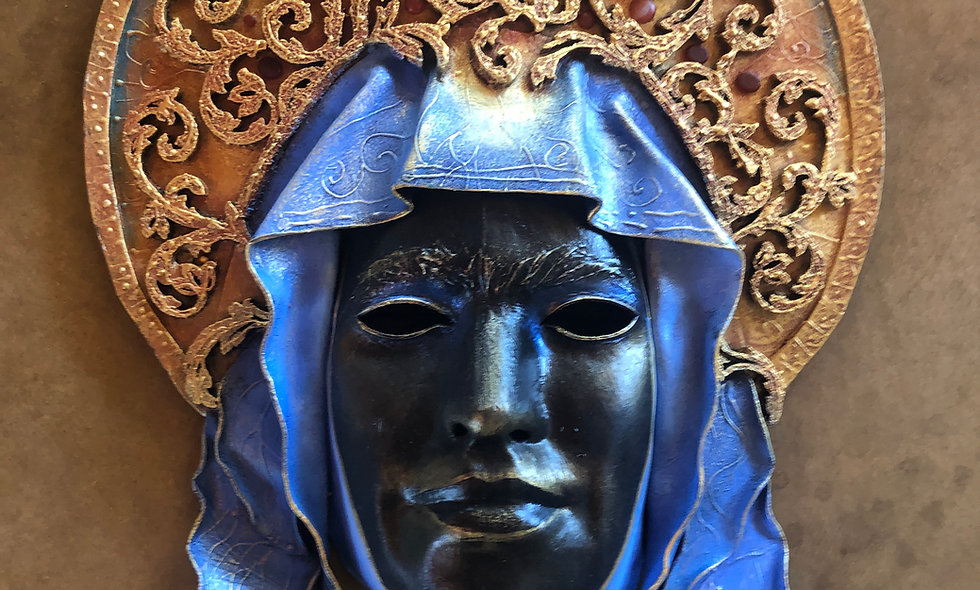 Black Madonna 'Lauren Raine' Mask