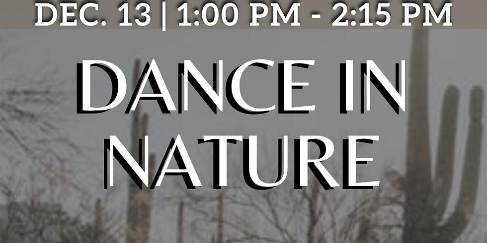 Dance In Nature Workshop ~ Improvisation Dance at Rillito Park