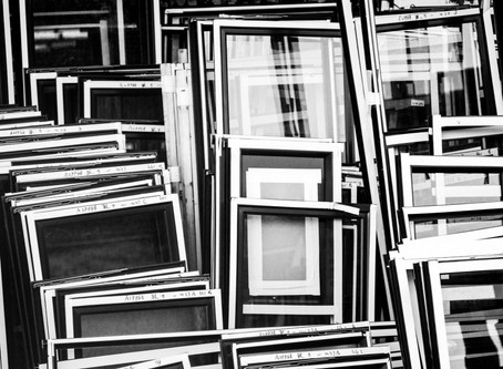 How to Frame your Work without Going Broke