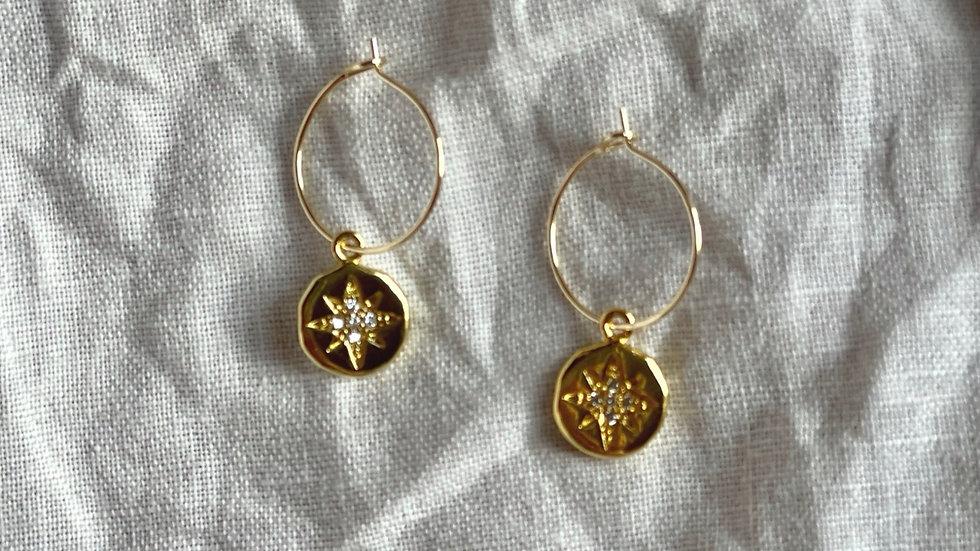 Star mini hoops