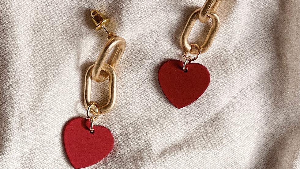 valentine chain studs