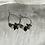 Thumbnail: Semi precious stone hoops