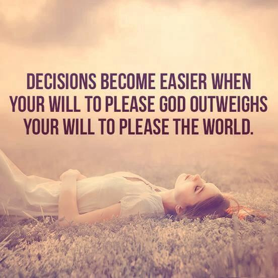 Choose to Please Him
