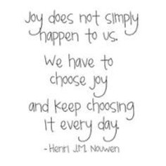 The Choice to Find Joy