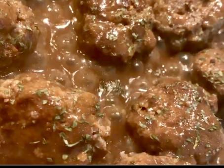 Picky Eaters Veggie Beef Meatballs
