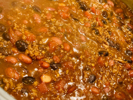 8 Ingredient Savory Chili