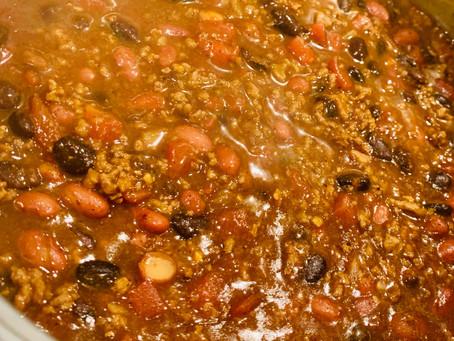 8 Ingredient Savory Chili