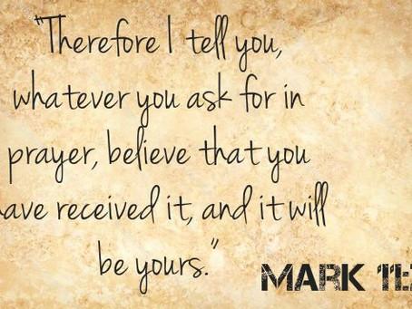 Believe in Your Prayers