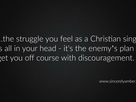 The Struggle is in Your Head