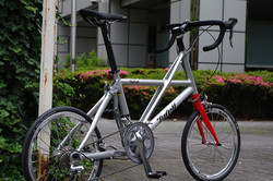 Silver FX with red front fork