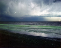 The-Photographer-and-The-Adriatic-Sea-from-Riccione-Italy