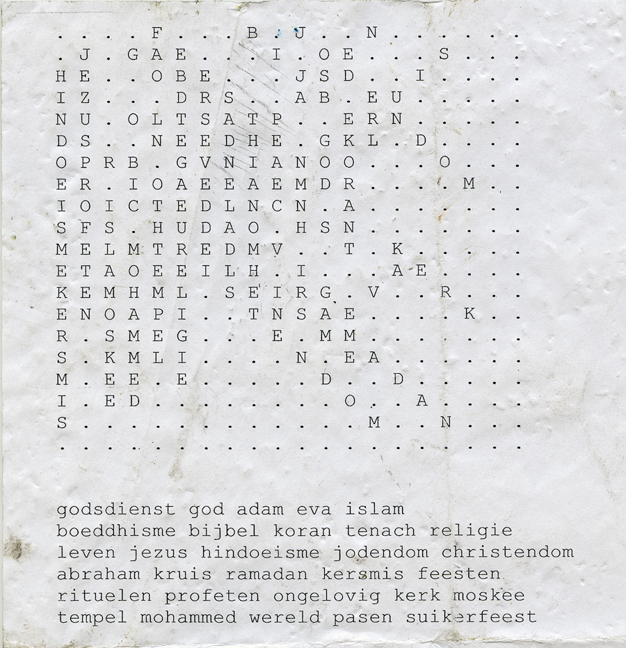 Found document - game religious