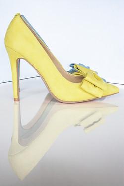 Gen Nee mismatched shoes Blue 4