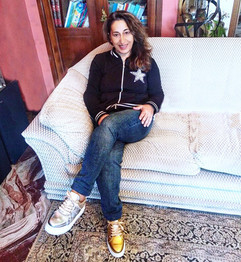 Stella wears mismatched and studded sneakers Song by Gen Nee