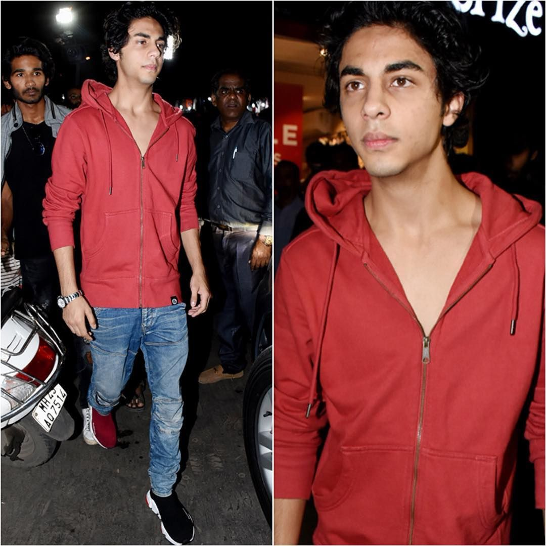 Aryan Khan Wears Mismatched Shoes