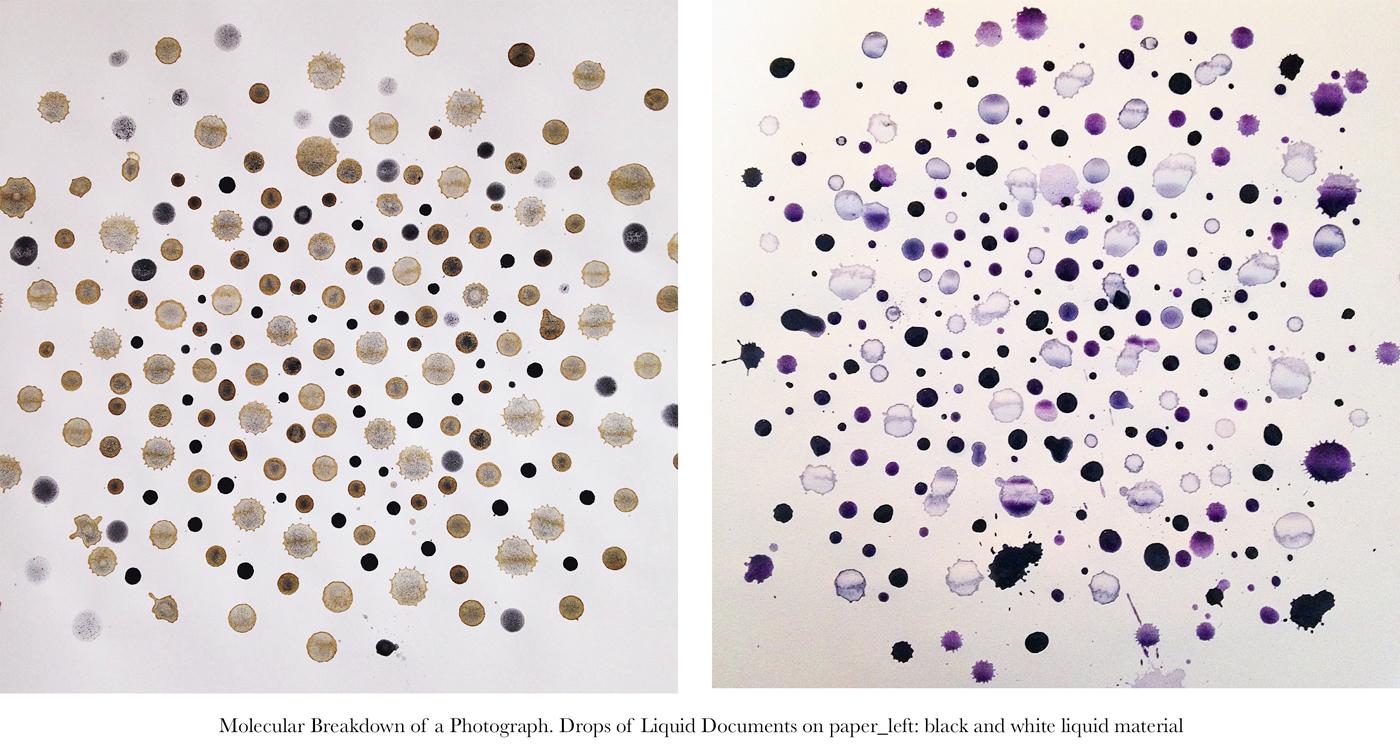 Molecular Breakdown of Photographs