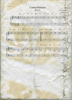 Found document - Music pages