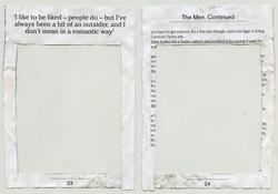 Found document - frame book