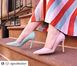 SJP collection - mismatched shoes
