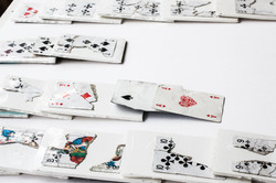 Found playing cards