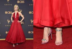 Nicole Kidman in mismatched sandals