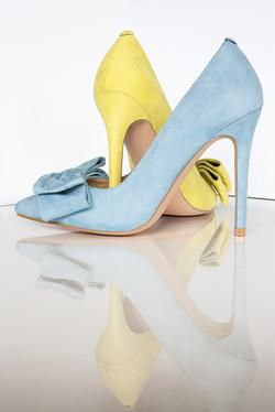 Gen Nee mismatched shoes Blue 3