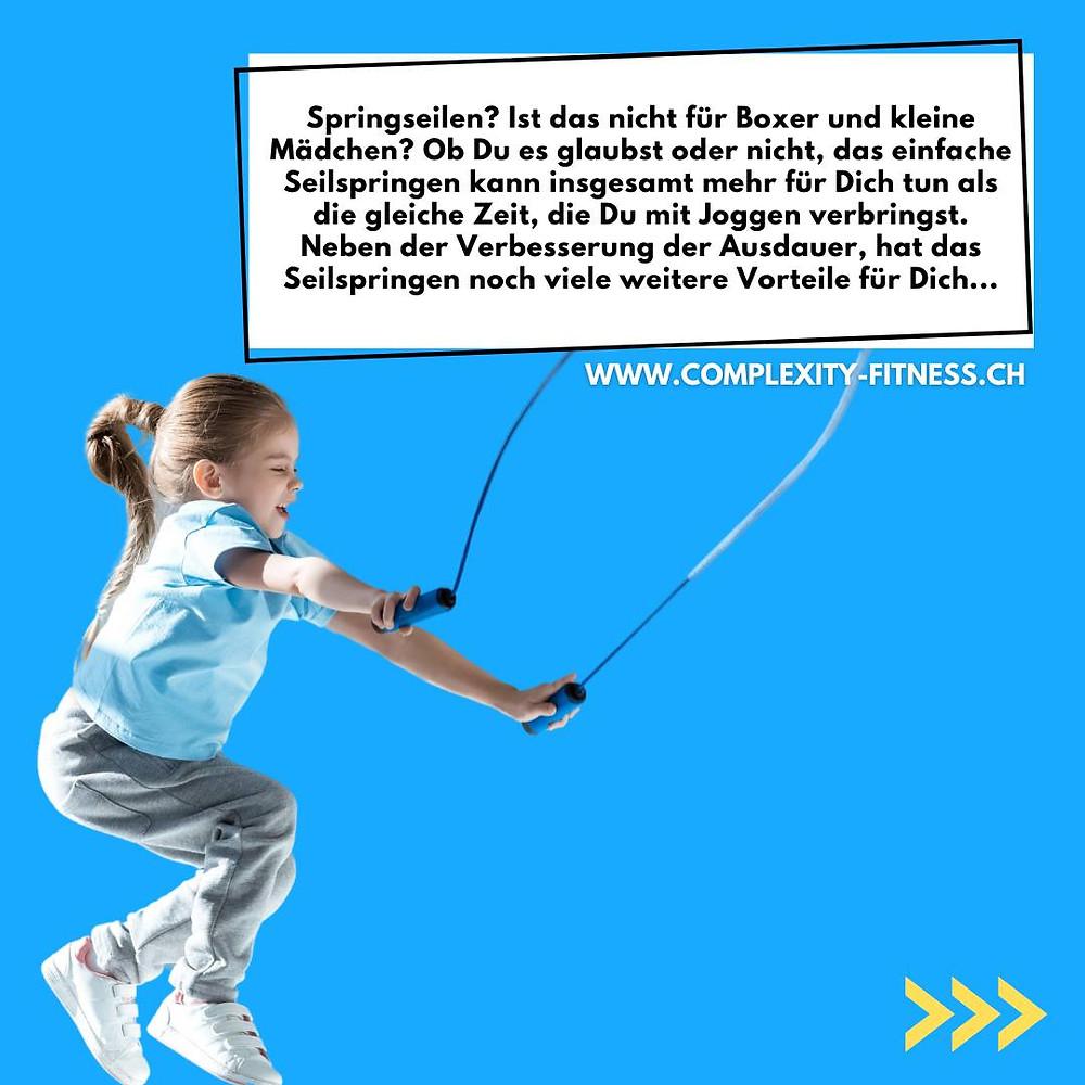 Ob Du es glaubst oder nicht. Seilspringen kann insgesamt mehr für deinen Körper tun als die gleiche Zeit, die du mit Joggen verbringst. Neben Verbesserung der Ausdauer hat Seilspringen noch viele weitere Vorteile für Dich und deine Gesundheit.