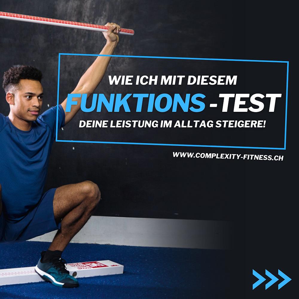 Wich ich mit diesem Funktionstest deine Leistung und Gesundheit im Alltag und Sport steigere.