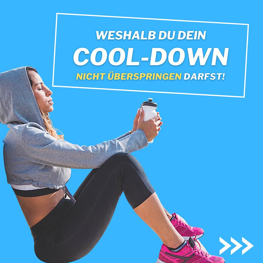 Abwärmen nach dem Training ist wichtig für Deine Gesundheit und Erholung