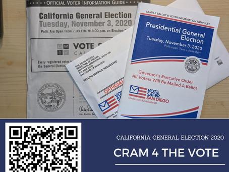 Cram 4 The Vote: 2020