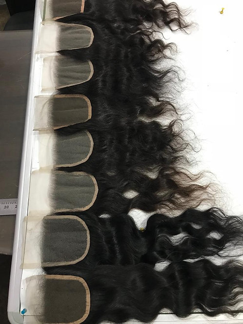 Raw Lace Closures