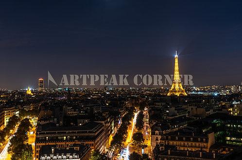 Una noche romántica con la Torre
