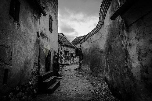 La ciudadela abandonada en Brasov. Rumania