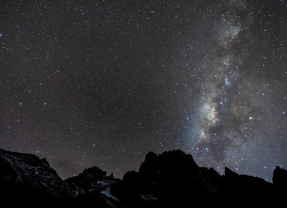Estrellas en Kenia a 3,900 msnm