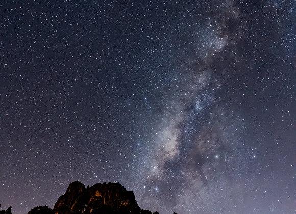 Via Láctea en Kenia a 3,900 msnm
