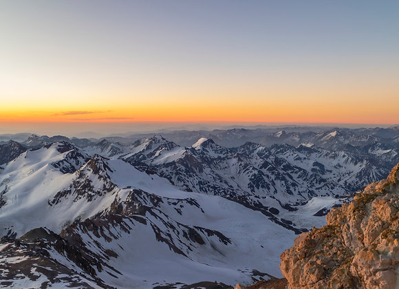 Aconcagua a 6100 msnm