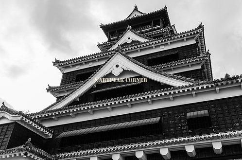 Retrato de castillo de Kumamoto