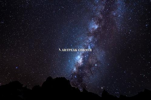 La Vía Láctea desde Kenia a 3,600 msnm