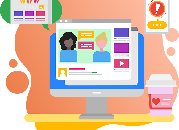 Multimedia Blog Website Design