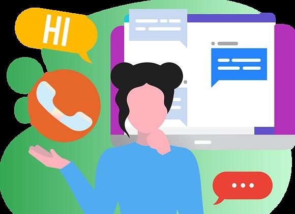 Calls and Text Customer Management Representative