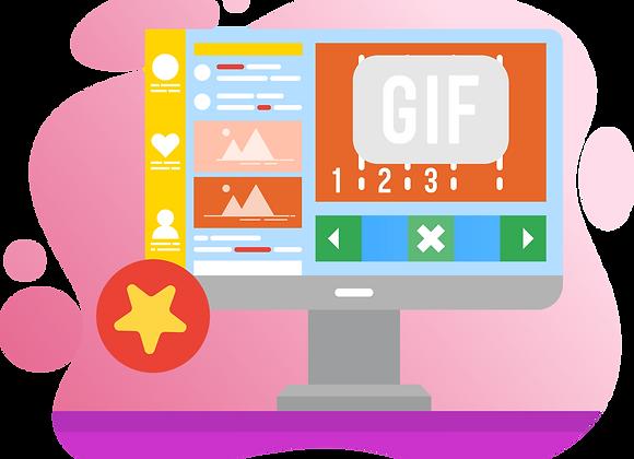Social Media GIF Post or Story Design (5sec)