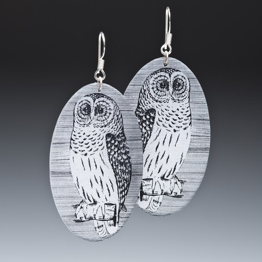 Owl with Stripes