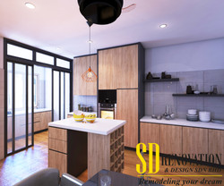Kitchen-View 1-Rev 1-Log